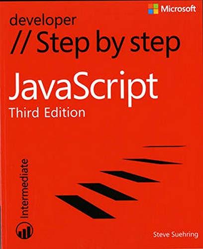 9780735665934: JavaScript Step by Step