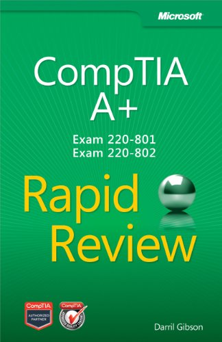 9780735666825: CompTIA A+ Rapid Review (Exam 220-801 and Exam 220-802)