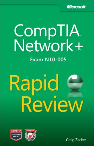 9780735666832: CompTIA Network+ Rapid Review Exam N10-005