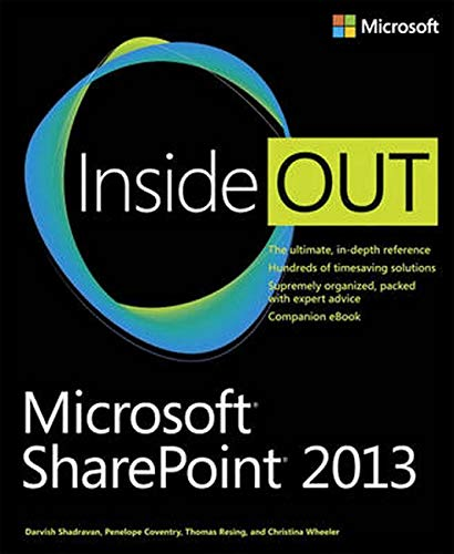 9780735666993: Microsoft SharePoint 2013 Inside Out