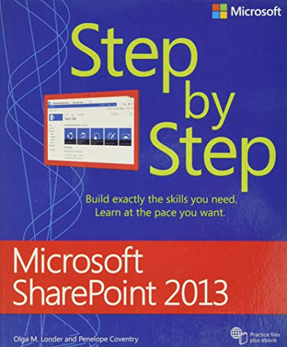 9780735667037: Microsoft SharePoint 2013 Step by Step
