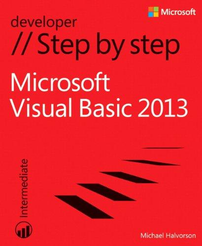 9780735667044: Microsoft Visual Basic 2013 Step by Step