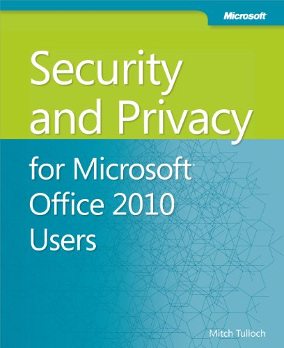 9780735668836: Security and Privacy for Microsoft Office 2010 Users