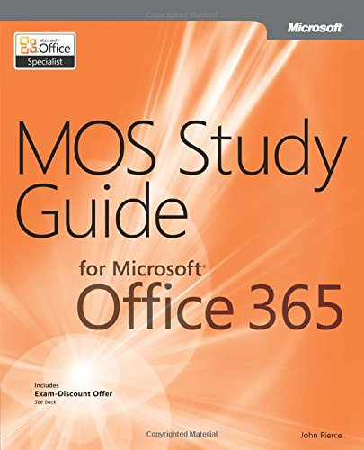 9780735669031: MOS Study Guide for Microsoft Office 365