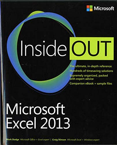 9780735669055: Microsoft Excel 2013 Inside Out