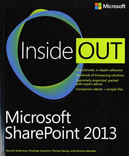 9780735669062: Microsoft Office Inside Out: 2013 Edition