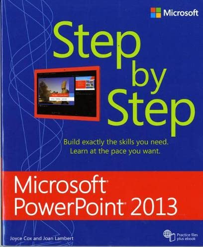 9780735669086: Microsoft Access 2013 Step by Step