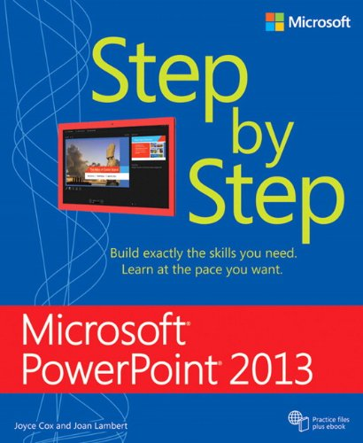 9780735669109: Microsoft PowerPoint 2013 Step by Step