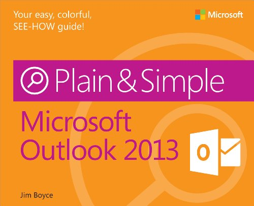 9780735669352: Microsoft Outlook 2013 Plain & Simple