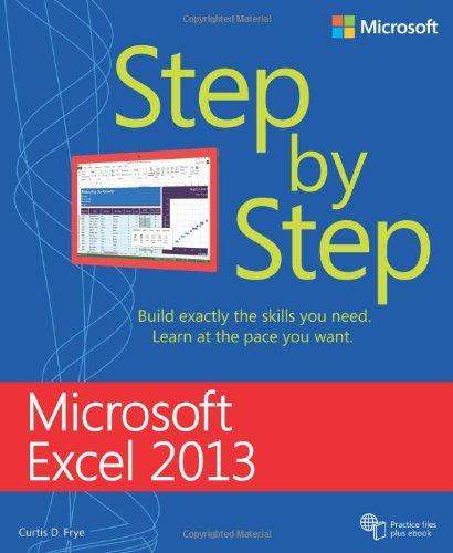 9780735669390: Microsoft Excel 2013 Step By Step