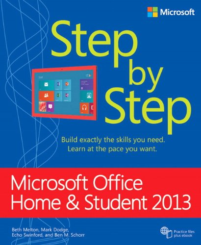 9780735669406: Microsoft Office Home and Student 2013 Step by Step