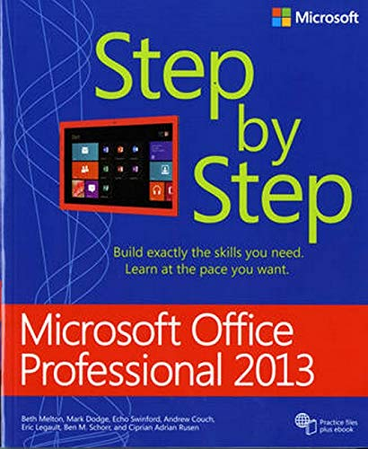 9780735669413: Microsoft Office Professional 2013 Step by Step (Step By Step (Microsoft))