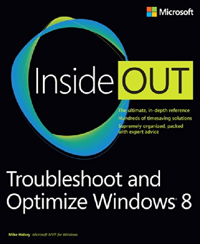 9780735670808: Troubleshoot And Optimize Windows 8 Inside Out