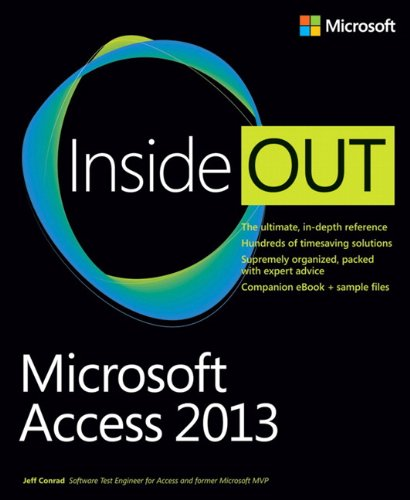 9780735671232: Microsoft Access 2013 Inside Out