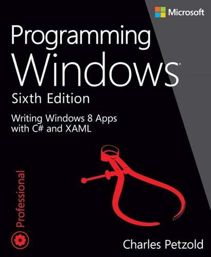 9780735671744: Programming Windows (PDF)