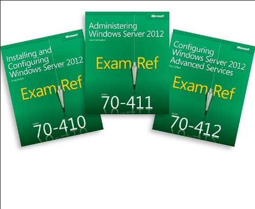 9780735673861: Cert Prep Pack: MCSA Windows Server 2012 (Exam Ref 70-410, 70-411, 70-412)