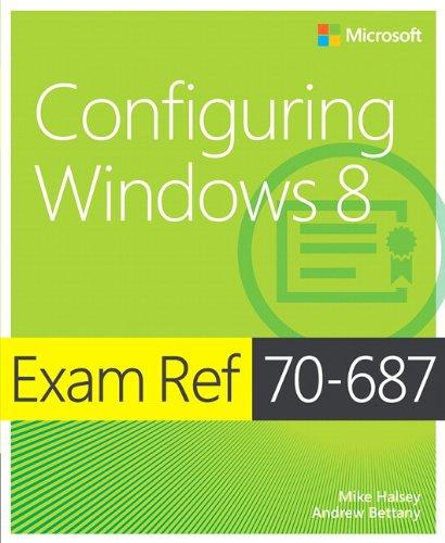 9780735673922: Exam Ref 70-687: Configuring Windows 8