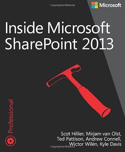 9780735674479: Inside Microsoft SharePoint 2013