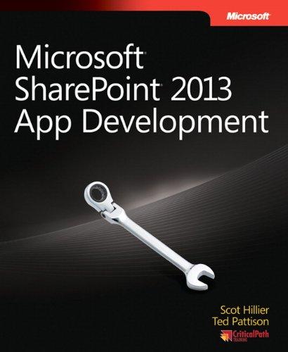 9780735674981: Microsoft SharePoint 2013 App Development (Developer Reference)