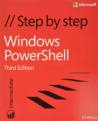 9780735675117: Windows Powershell: Step by Step: Intermediate
