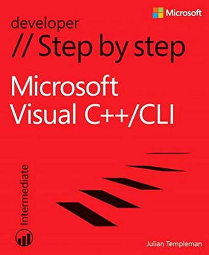 9780735675179: Microsoft Visual C++/CLI Step by Step (Step by Step Developer)