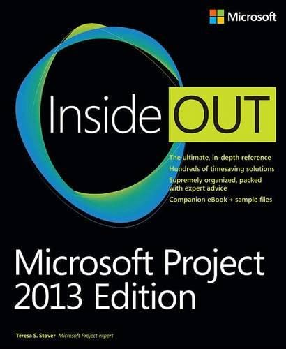 9780735677814: Microsoft Project Inside Out: 2013 Edition