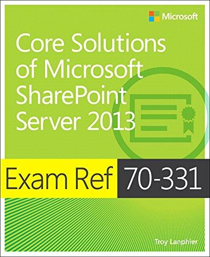 9780735678088: Exam Ref 70-331 Core Solutions of Microsoft SharePoint Server 2013 (MCSE)