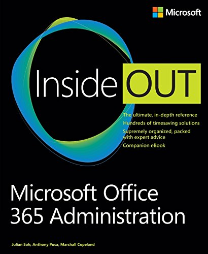 9780735678231: Microsoft Office 365 Administration Inside Out