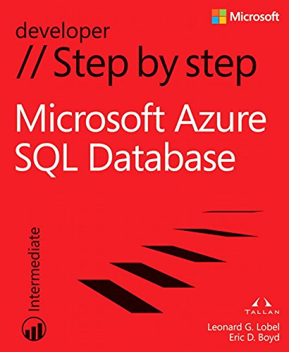 9780735679429: Windows Azure SQL Database Step by Step