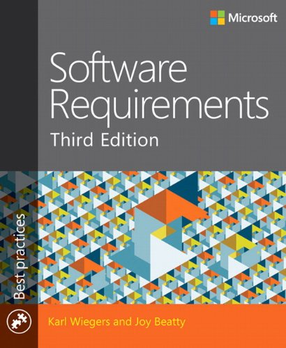 9780735679665: Software Requirements (3rd Edition) (Developer Best Practices)