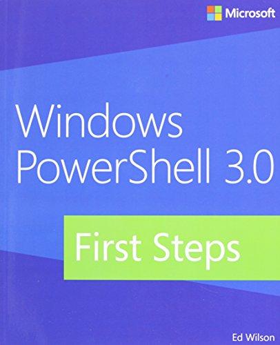 9780735681002: Windows PowerShell 3.0 First Steps