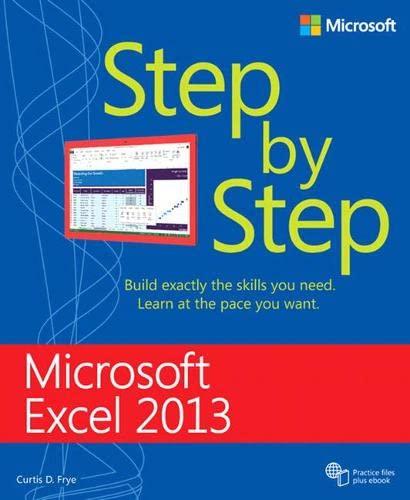 9780735681019: Microsoft Excel 2013 Step By Step