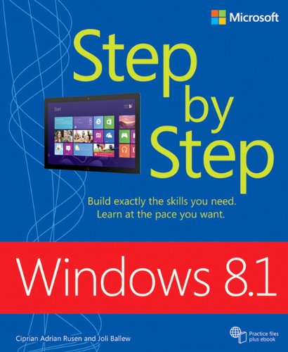 9780735681309: Windows 8.1 Step By Step