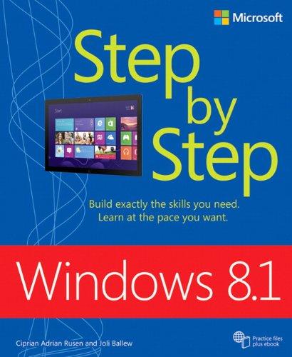 9780735681309: Windows 8.1 Step by Step