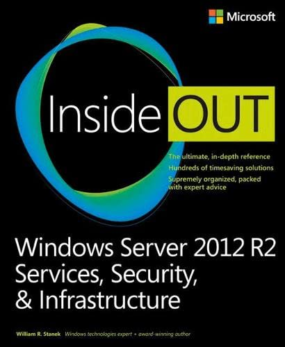 9780735682559: Windows Server 2012 R2 Inside Out Volume 2: Services, Security, & Infrastructure