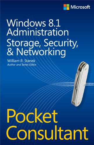 9780735682610: Windows 8.1 Administration Pocket Consultant Storage, Security, & Networking