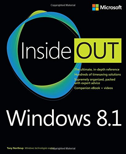 9780735683631: Windows 8.1 Inside Out