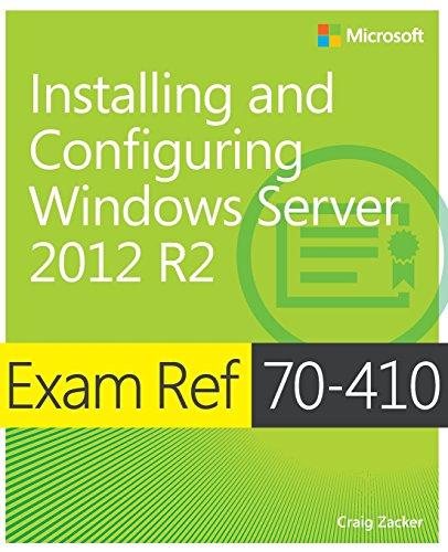 9780735684249: Exam Ref 70-410 Installing and Configuring Windows Server 2012 R2 (MCSA)