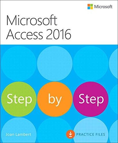 9780735697751: Microsoft Access 2016 Step by Step