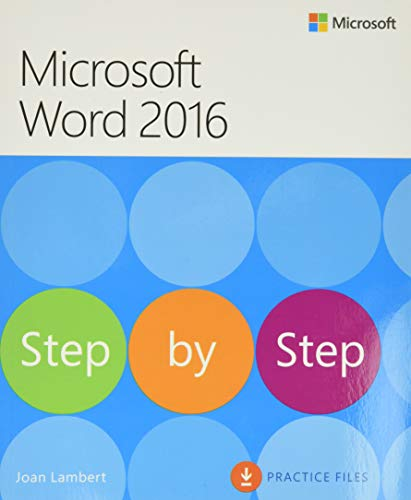 9780735697775: Microsoft Word 2016 Step By Step