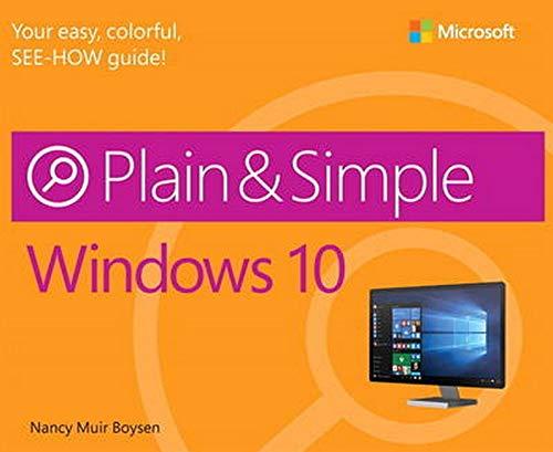 9780735697942: Windows 10 Plain & Simple