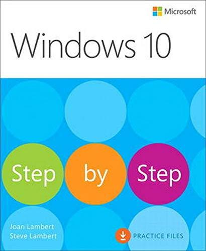 9780735697959: Windows 10 Step by Step