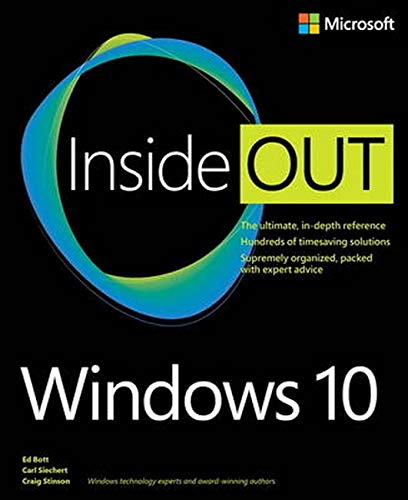 9780735697966: Windows 10 Inside Out