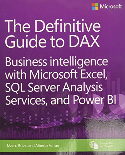 9780735698352: The Definitive Guide to DAX: Business intelligence with Microsoft Excel, SQL Server Analysis Services, and Power BI