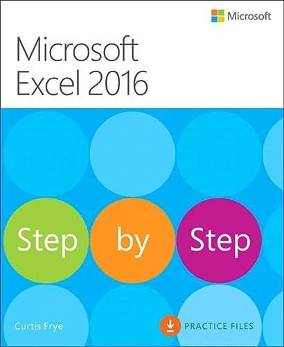 9780735698802: Microsoft Excel 2016 Step by Step