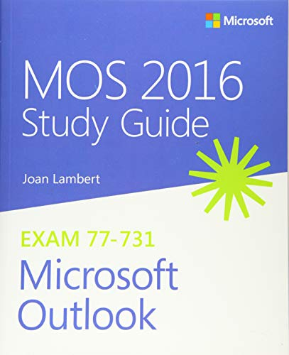 9780735699380: MOS 2016 Study Guide for Microsoft Outlook (MOS Study Guide)