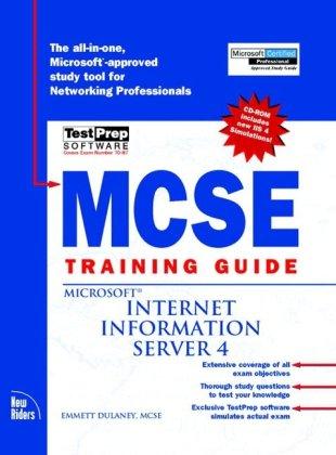 9780735708655: MCSE Training Guide: Internet Information Server 4