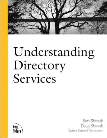 9780735709102: Understanding Directory Services