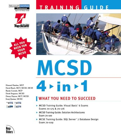 9780735709126: MCSD Training Guide 4-in-1: