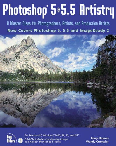 9780735709942: Photoshop 5 & 5.5 Artistry: A Master Class for Photographers, Artists, and Production Artists
